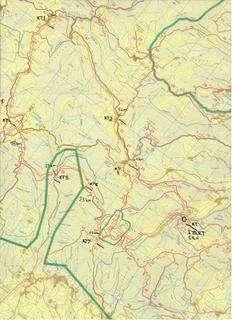 Karta za Samoborsku Trek Shnitu 2009
