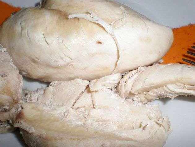 pechugaentera - Montaditos de paté de pollo, con verduras